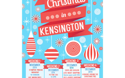 Christmas in Kensington Pancake Breakfast
