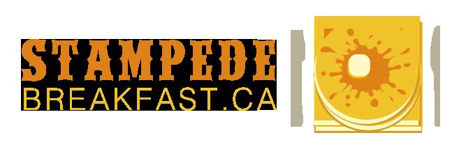 Stampede Breakfast 2018 Logo