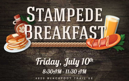 Shaw GMC Stampede Breakfast 2015