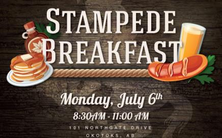 Okotoks GM Stampede Breakfast 2015