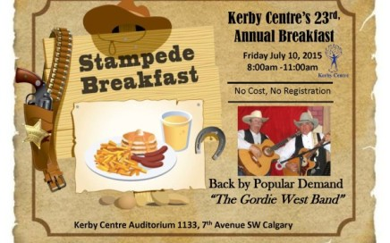 Kerby Centre Stampede Breakfast 2015