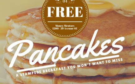 Money Mentors Free Stampede Breakfast 2015