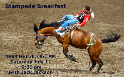 Hope Mission Stampede Breakfast 2015