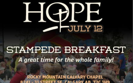Calvary Church Hope Stampede Breakfast 2015
