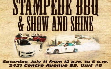 Haute AG Stampede BBQ Car Show 2015
