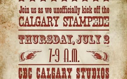 The CBC Co-Op Stampede Breakfast 2015