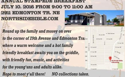 Northside Bible Fellowship Church 2016 Annual Stampede