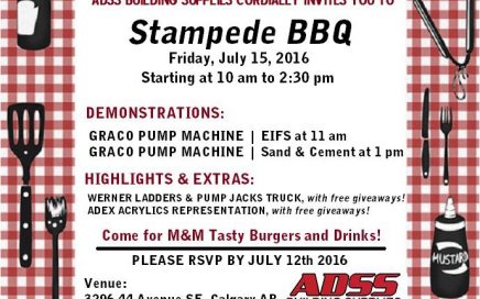 ADSS Building Supplies 2016 Stampede BBQ