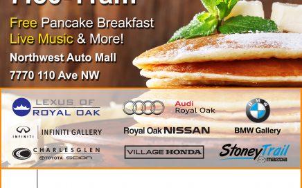 Northwest Auto Mall Stampede Breakfast 2016