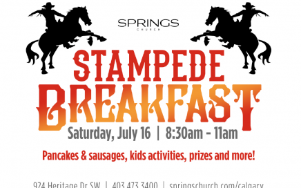 Springs Church Stampede Breakfast 2016