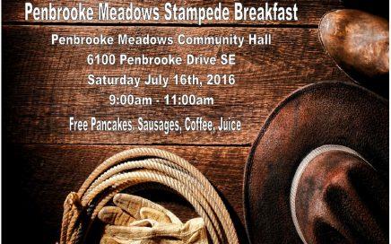 Penbrooke Meadows Stampede Breakfast 2016