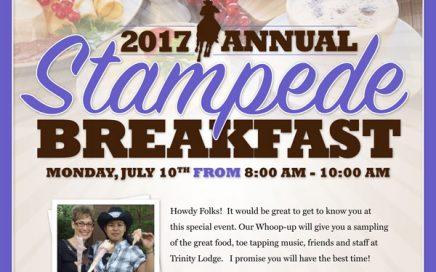 Trinity Senior Lodge Stampede Breakfast 2017