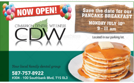 Cimarron Dental Wellness Pankcake Breakfast