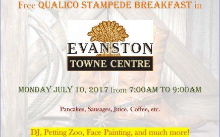Qualico-Evanston Stampede Breakfast 2017