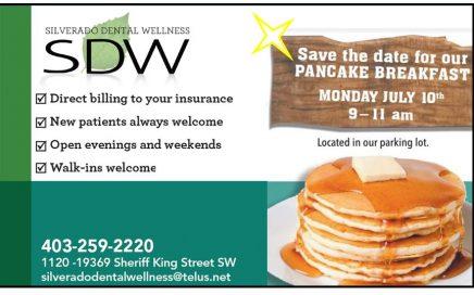 Silverado Dental Wellness Pancake Breakfast 2017