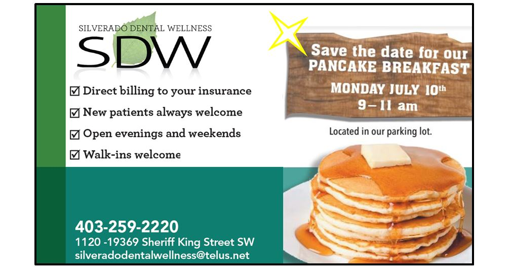 Silverado Dental Wellness Pancake Breakfast 2017