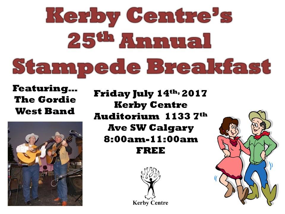 Kerby Centre Stampede Breakfast 2017
