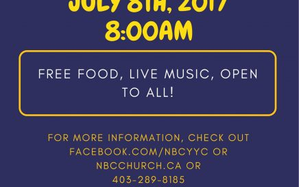 NBC Church Stampede Breakfast 2017