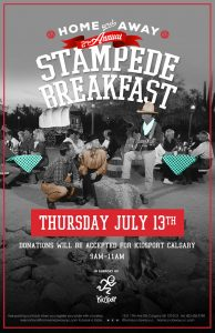 Home & Away Second Annual Stampede Breakfast 2017
