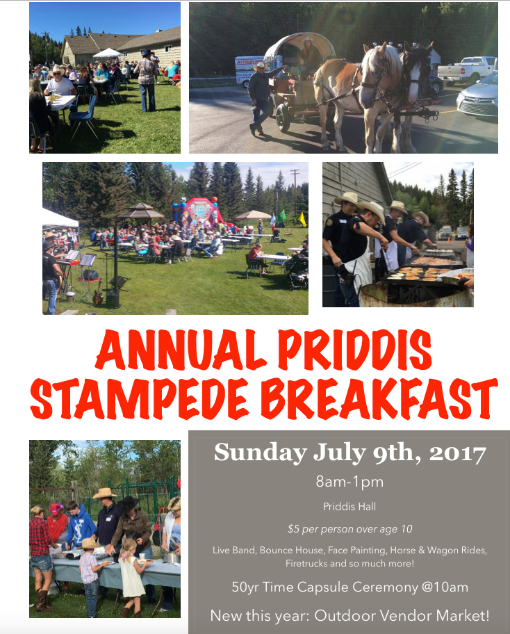 Priddis Stampede Breakfast 2017