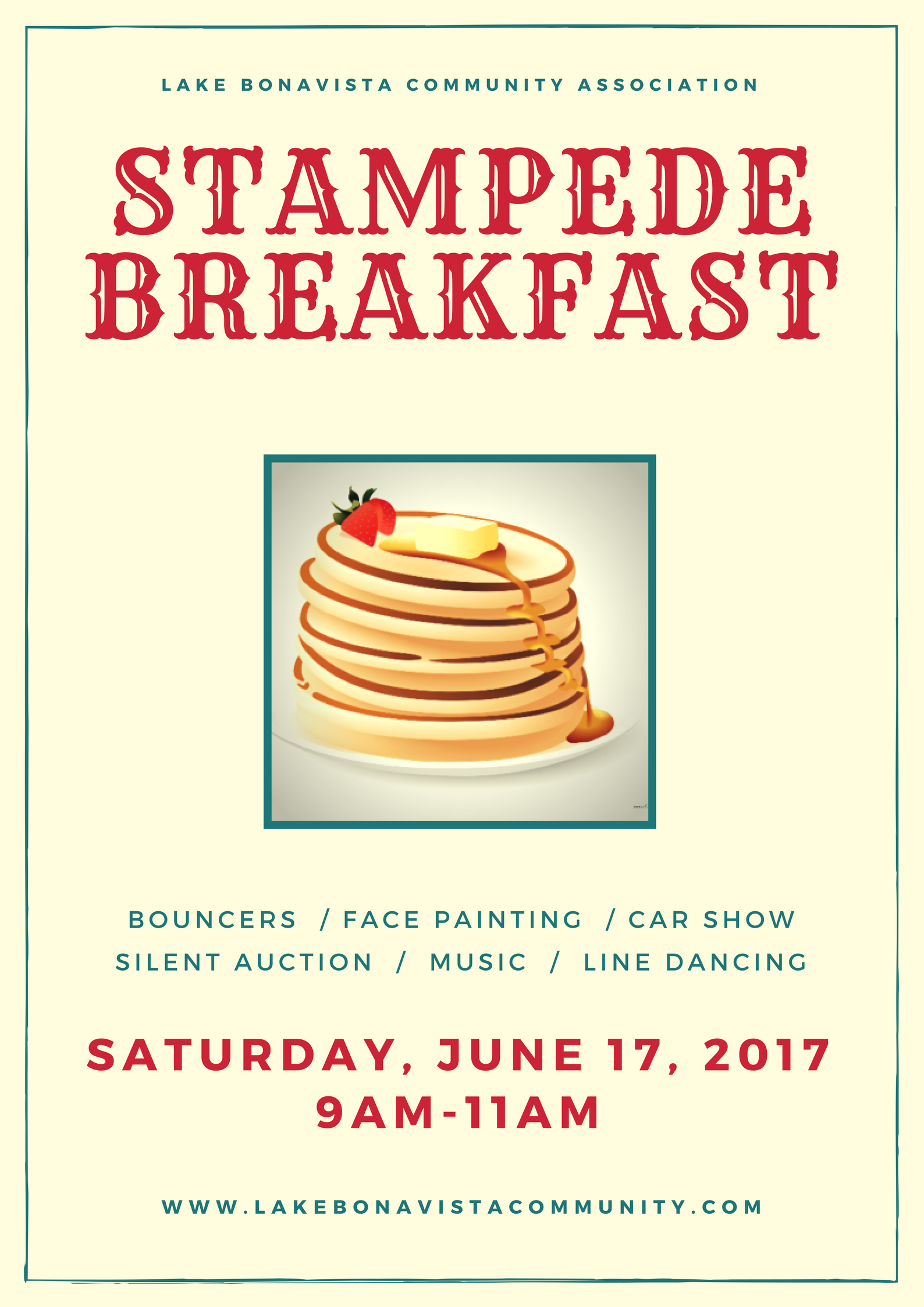 Lake Bonavista Stampede Breakfast 2017