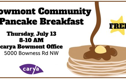 carya Bowmont Community Pancake Breakfast 2017
