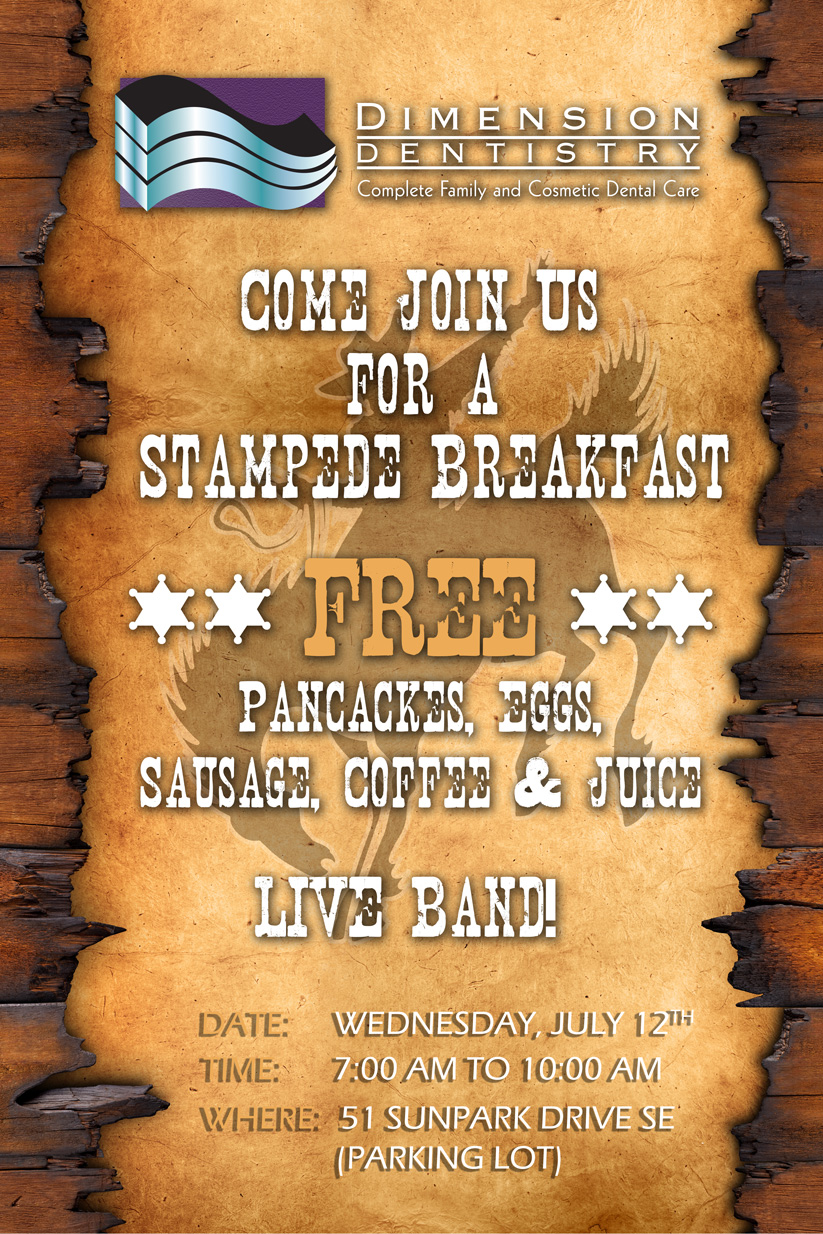 Dimension Dentistry Stampede Breakfast 2017