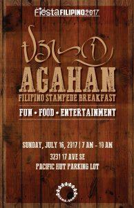 AGAHAN 2017 Filipino Stampede Breakfast 2017