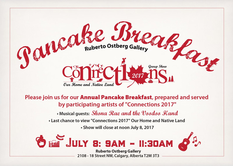 Pancake Breakfast and Connections 2017 Closing Reception