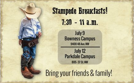 Parkdale Campus Wood's Homes Stampede Breakfast 2017