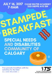Taking Strides Stampede Breakfast 2017