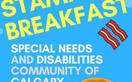 Taking Strides Stampede Breakfast 2017