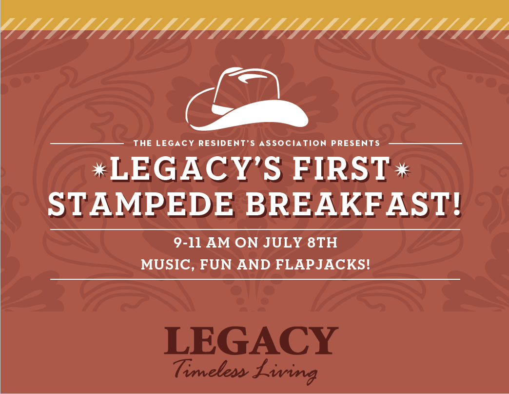 Legacy Residents Association Stampede Breakfast 2017
