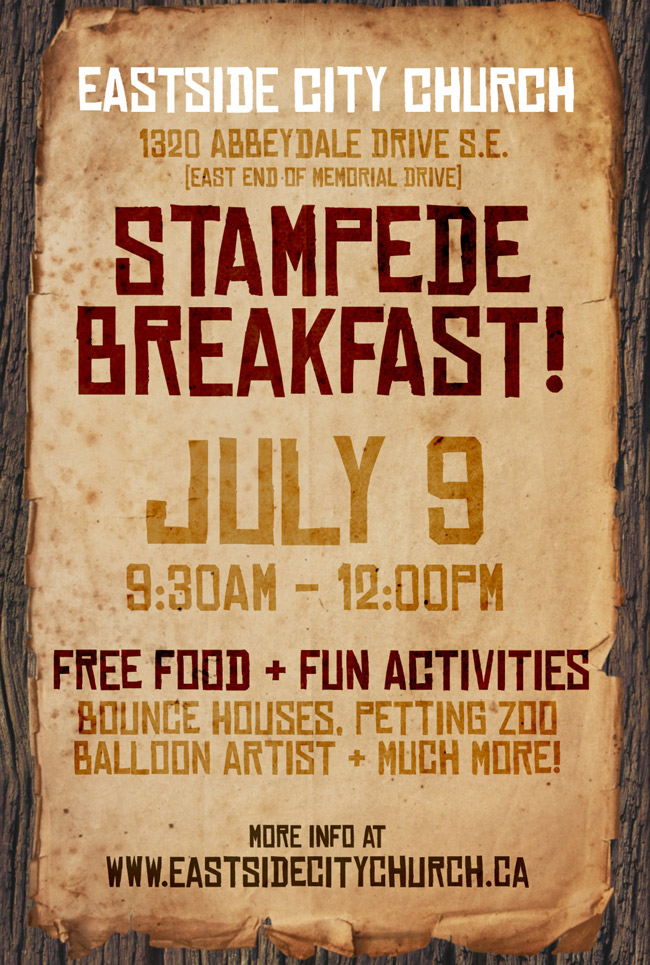 Stampede Breakfast @ Eastside 2017