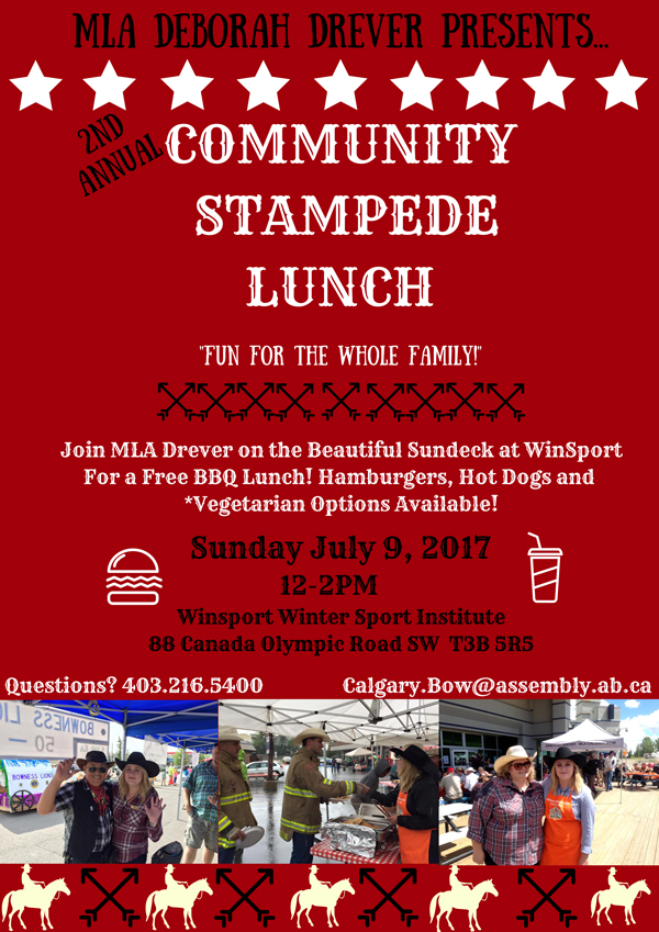 Calgary-Bow Stampede Lunch 2017