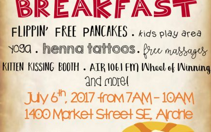 1st Annual Kingsview Market Stampede Breakfast 2017