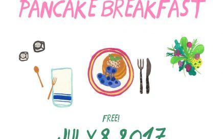 Get Stacked: Vegan Pancake Breakfast 2017
