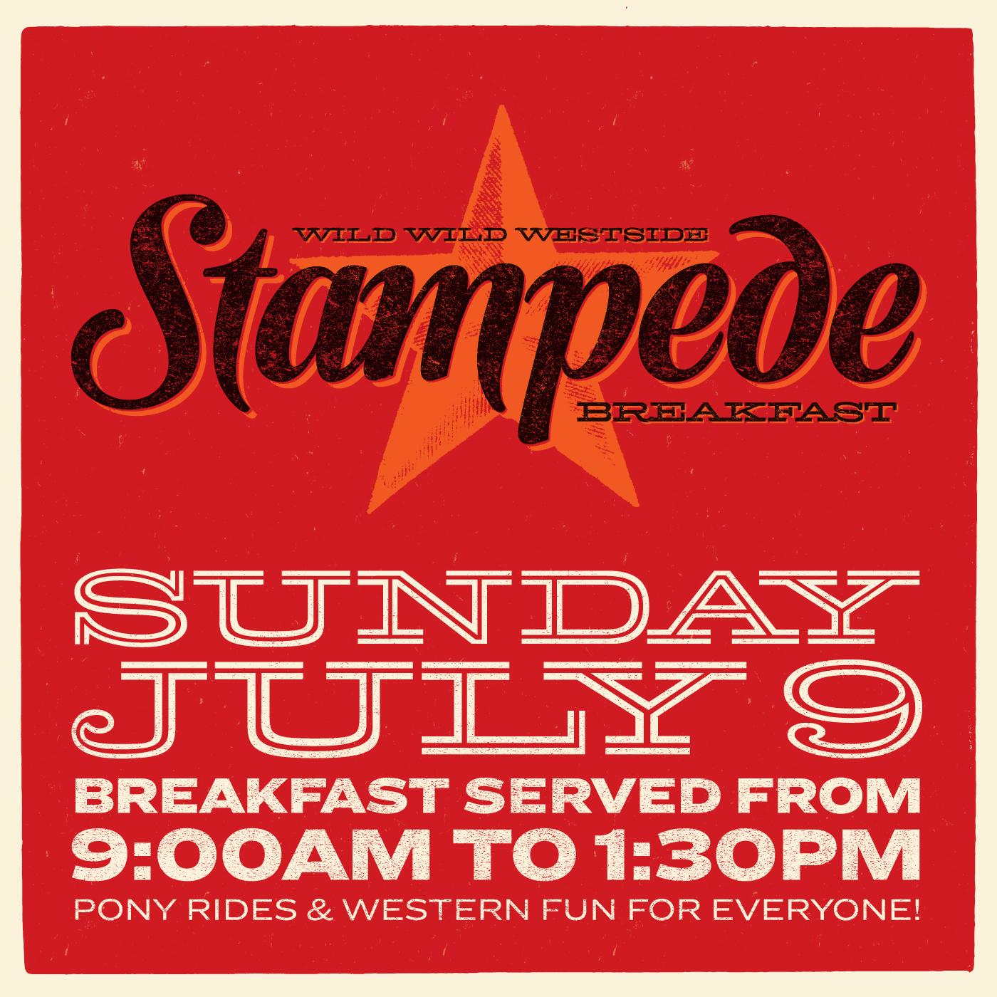 Wild Wild Westside Stampede Breakfast 2017
