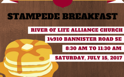River of Life Alliance Church 2nd Annual Stampede Breakfast 2017