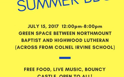 Northmount Baptist Church Stampede Barbecue 2017