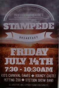 Springborough Professional Center's Stampede Breakfast 2017
