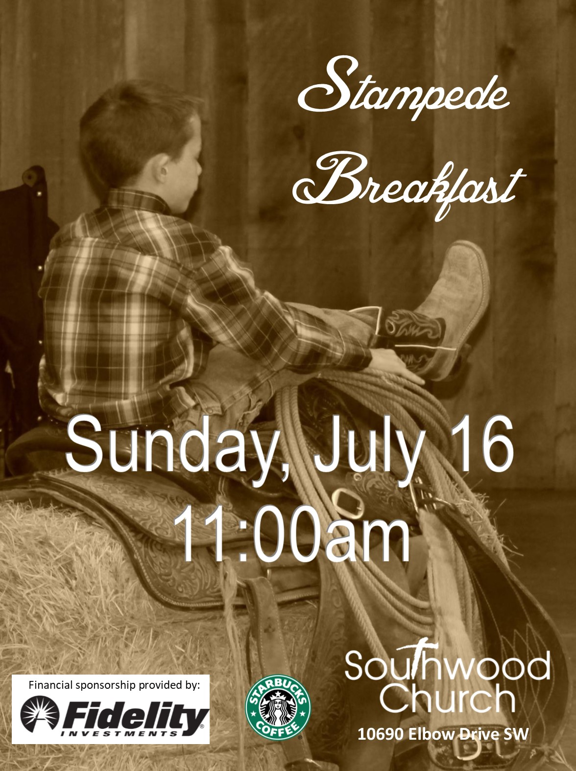 Southwood Church Stampede Breakfast 2017