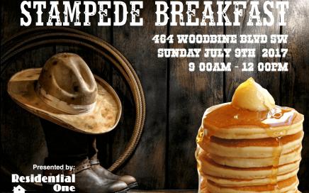 Residential One Stampede Breakfast 2017