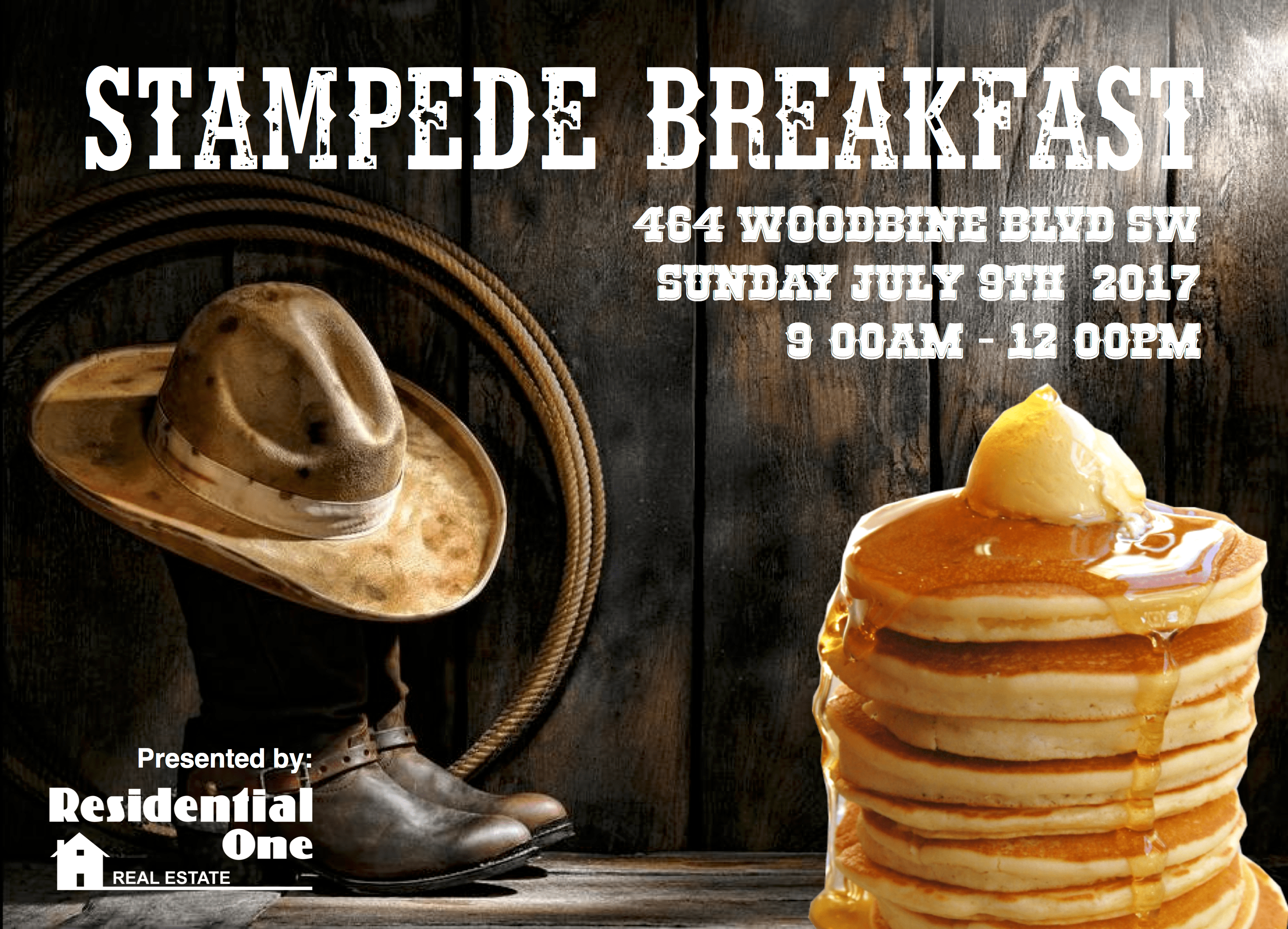 Residential One Stampede Breakfast 2017