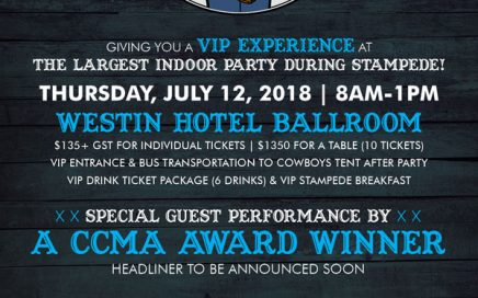 Bootleggin' Breakfast: The Largest Indoor Party During Stampede 2018