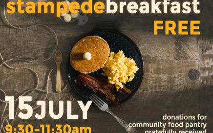 Bonavista Church Stampede Breakfast 2018