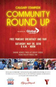 Community Round Up Free Pancake Breakfast 2018