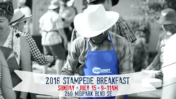 Sunwest Church Midnapore 2018 Stampede Breakfast