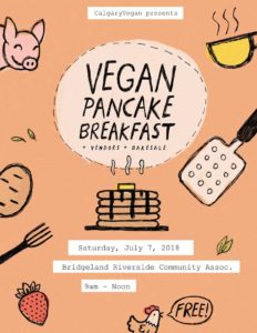 Vegan Pancake Breakfast 2018