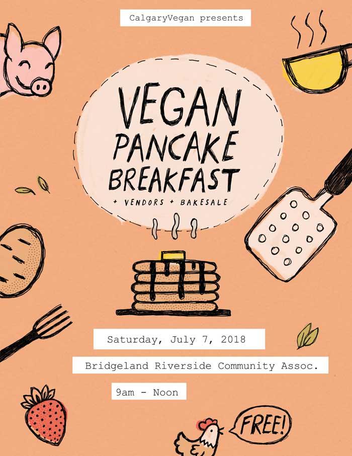 Vegan Pancake Breakfast 2018